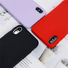 Simplistic Solid Color iPhone X Case