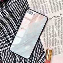 Marble Glass iPhone Case
