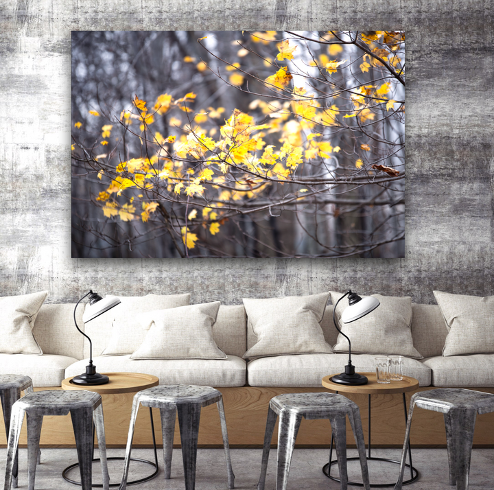 Autumn Air Large Canvas - 40x30, 40x40, 60x40 (Custom sizes available)