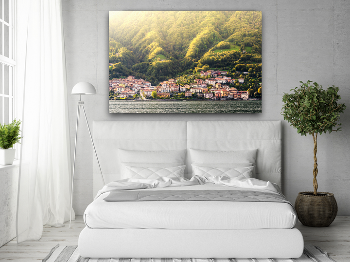Italian Village Large Canvas - 40x30, 40x40, 60x40 (Custom sizes available)
