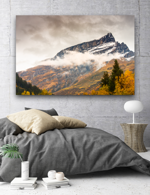 Mountain Tops Large Canvas - 40x30, 40x40, 60x40 (Custom sizes available) - Mary's Mark Photography