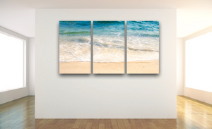 Ocean Canvas - Multi Panels, Single Panels: 40x30, 40x40, 60x40 (Custom sizes available) - Mary's Mark Photography