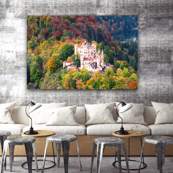 Castle Large Canvas - 40x30, 40x40, 60x40 (Custom sizes available)