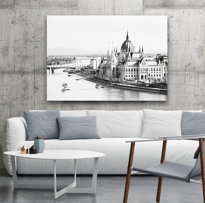 Budapest Large Canvas - 40x30, 40x40, 60x40 (Custom sizes available)