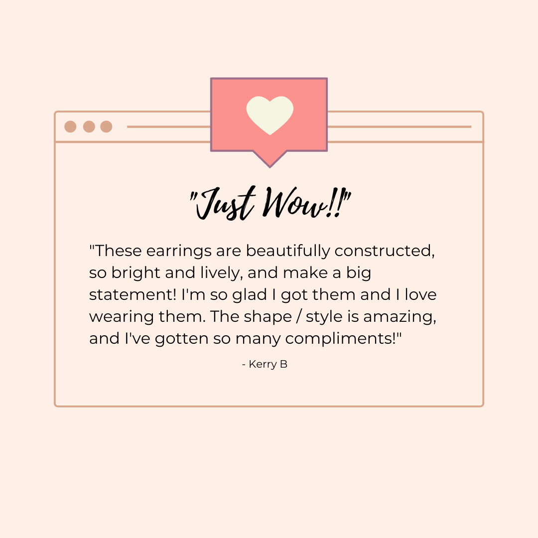 5 Star Review: Golden Hour Earrings