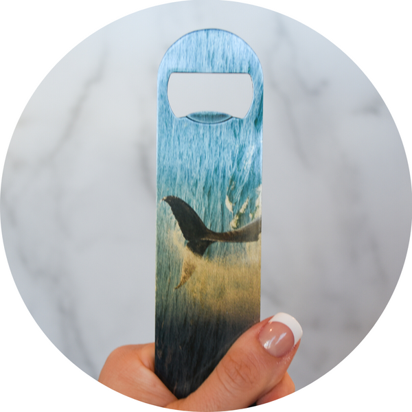 Humpback Hello | Bottle Opener