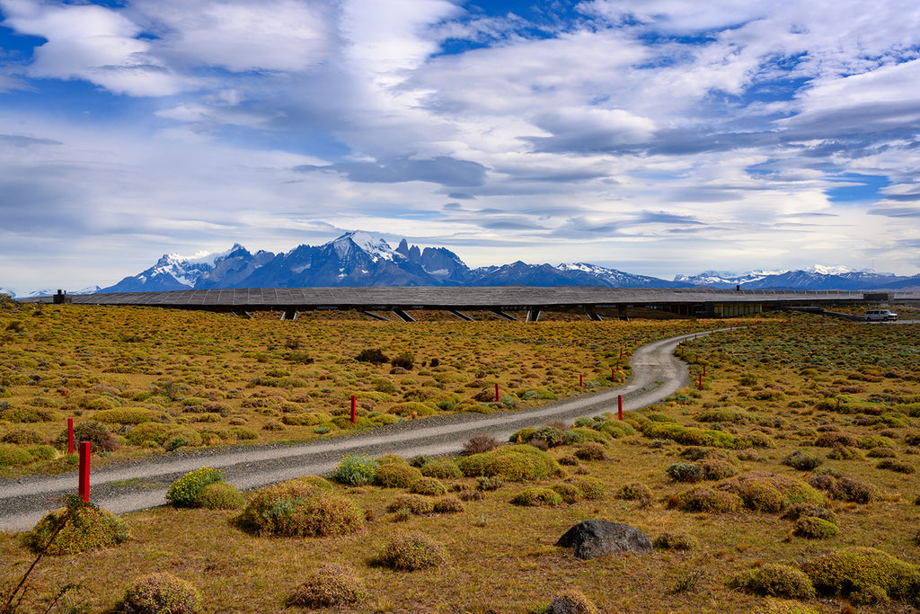 Drive to Tierra Patagonia Hotel | Nat Geo | Hotel of the Wind | Wear the Wonder
