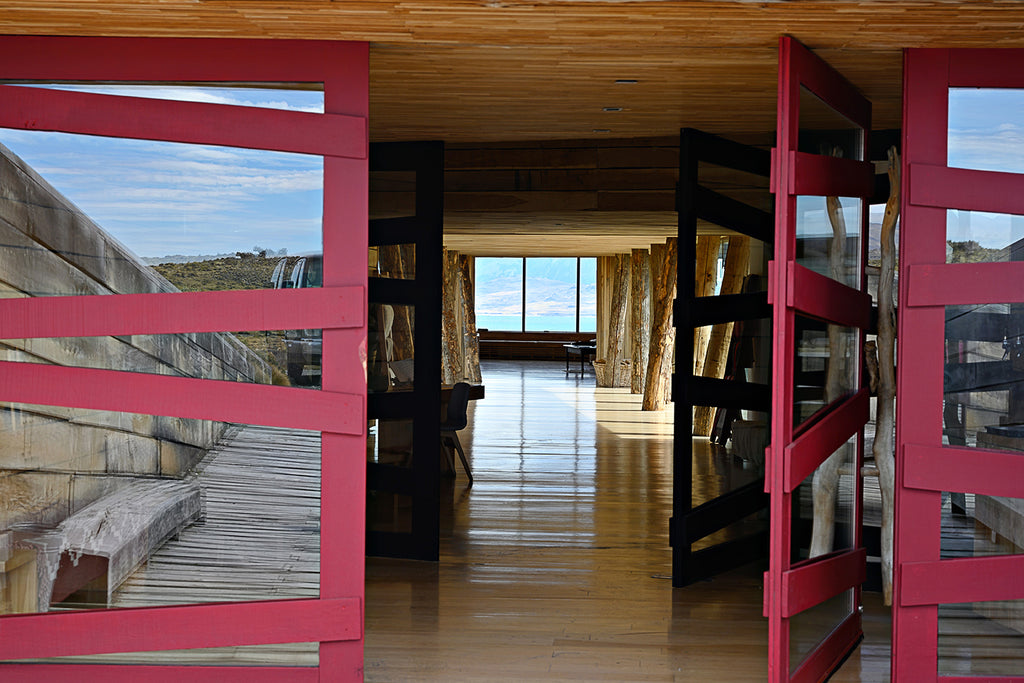 Nat Geo | Tierra Patagonia Hotel Front | Hotel of the Wind | Wear the Wonder