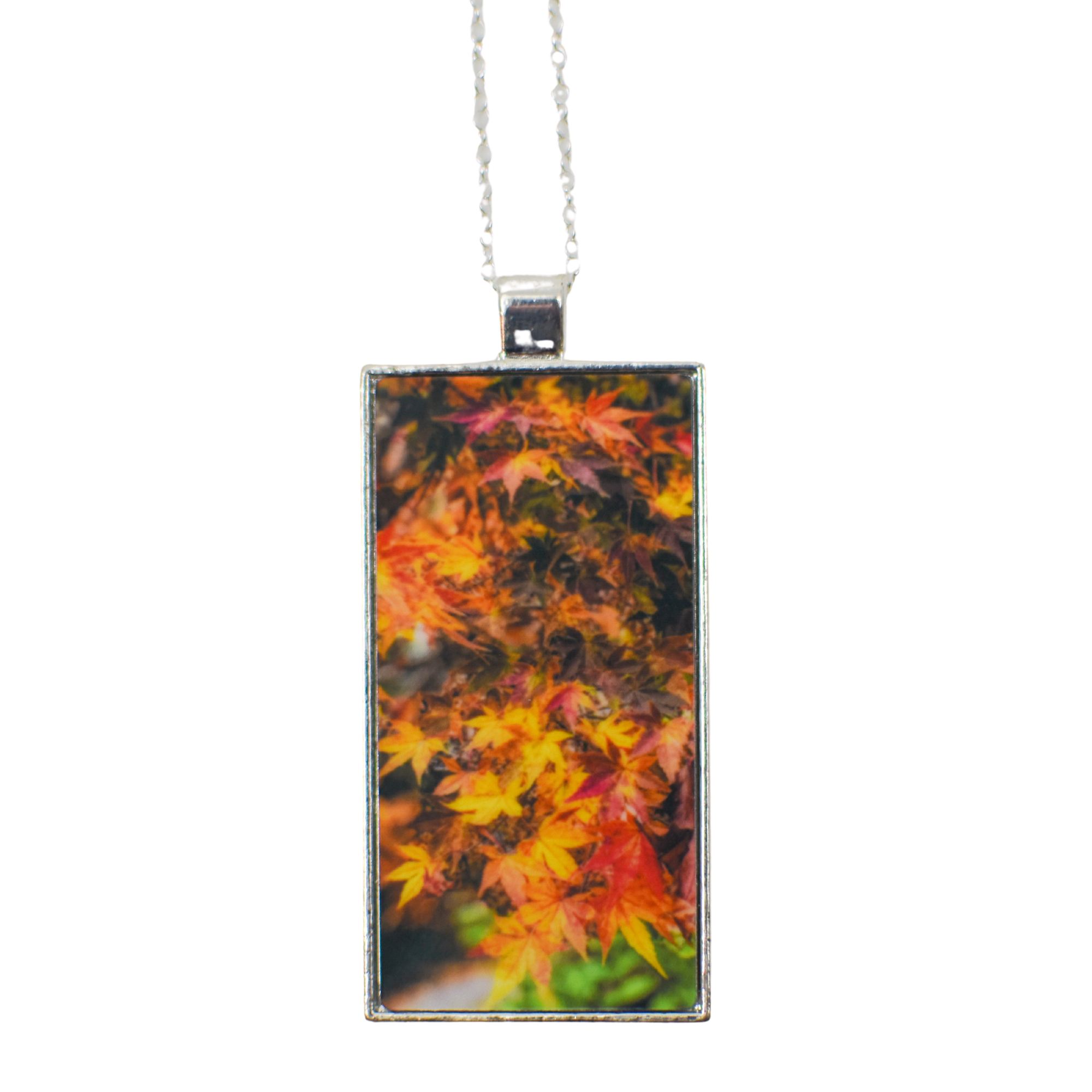 Standard view of Autumn Leaves Pendant Necklace | Wear the Wonder