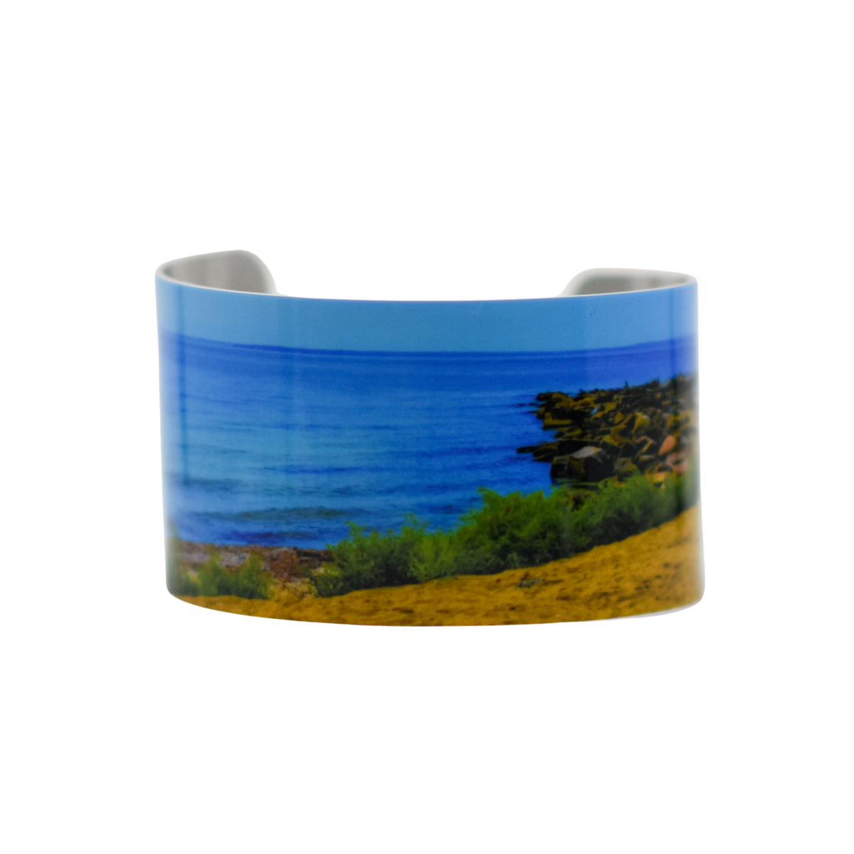Standard view Peaceful Beach Cuff Bracelet | Wear the Wonder