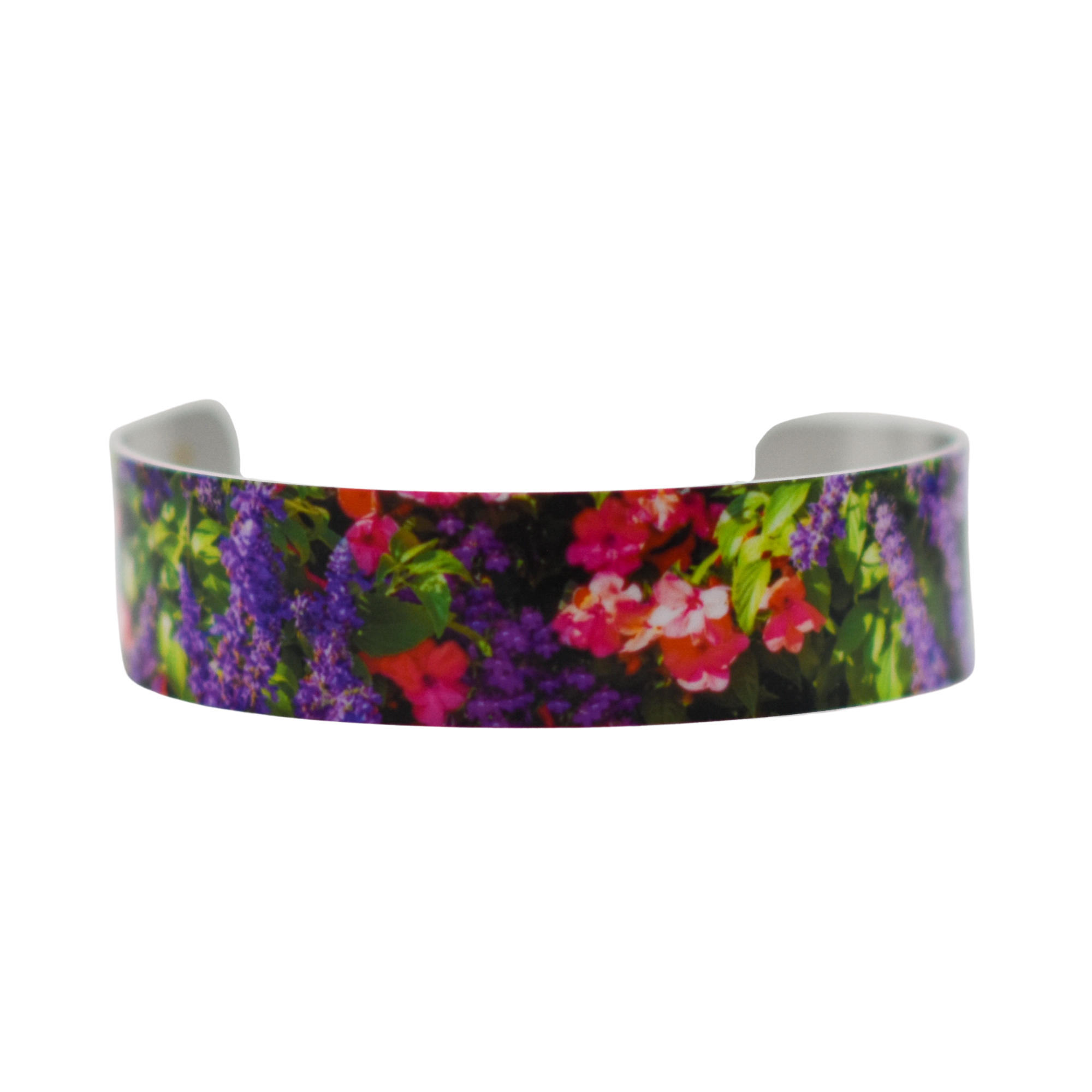 Standard view of Window Flowers Cuff Bracelet | Wear the Wonder