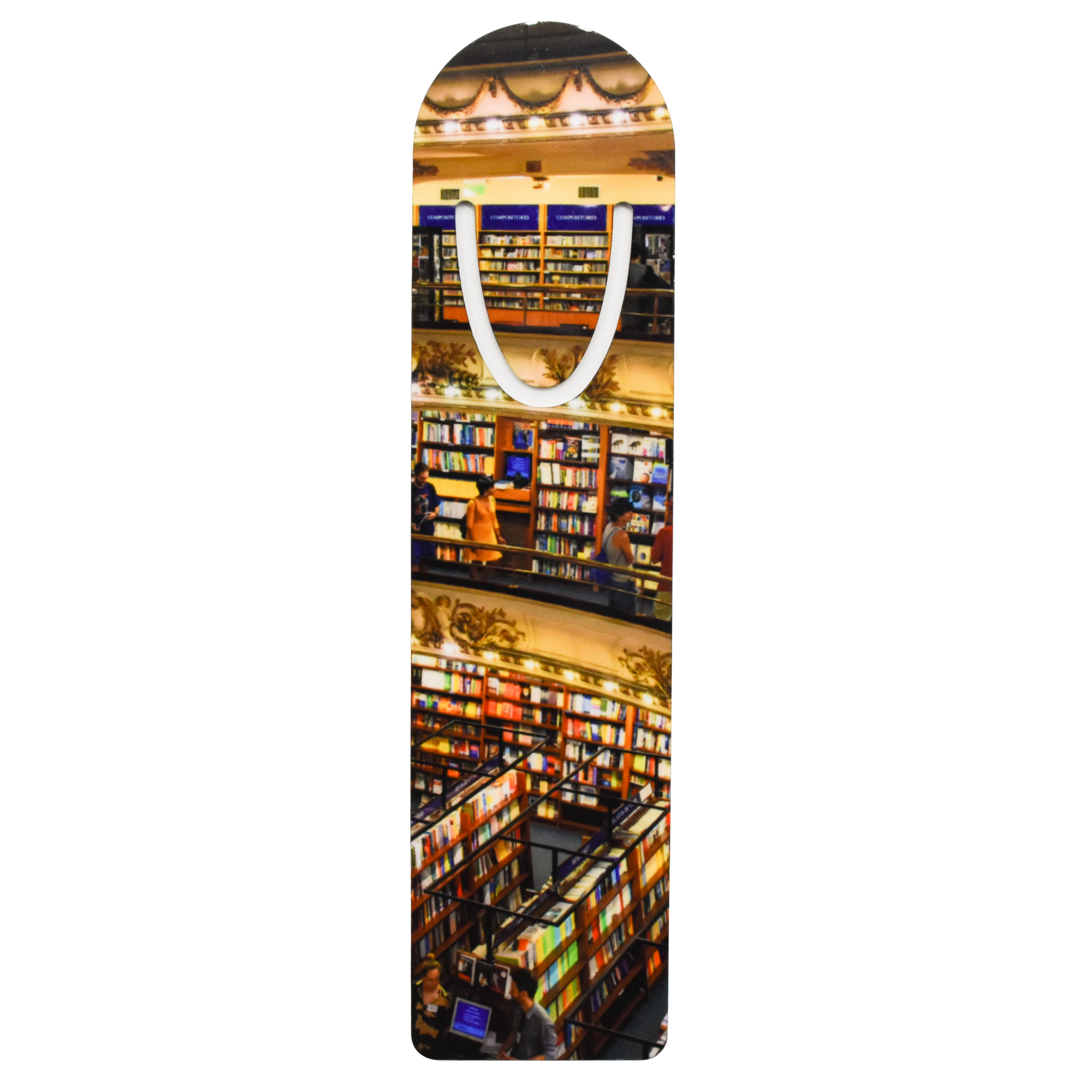 Row by Row Bookmark