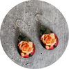 Summer Rose Teardrop Earring