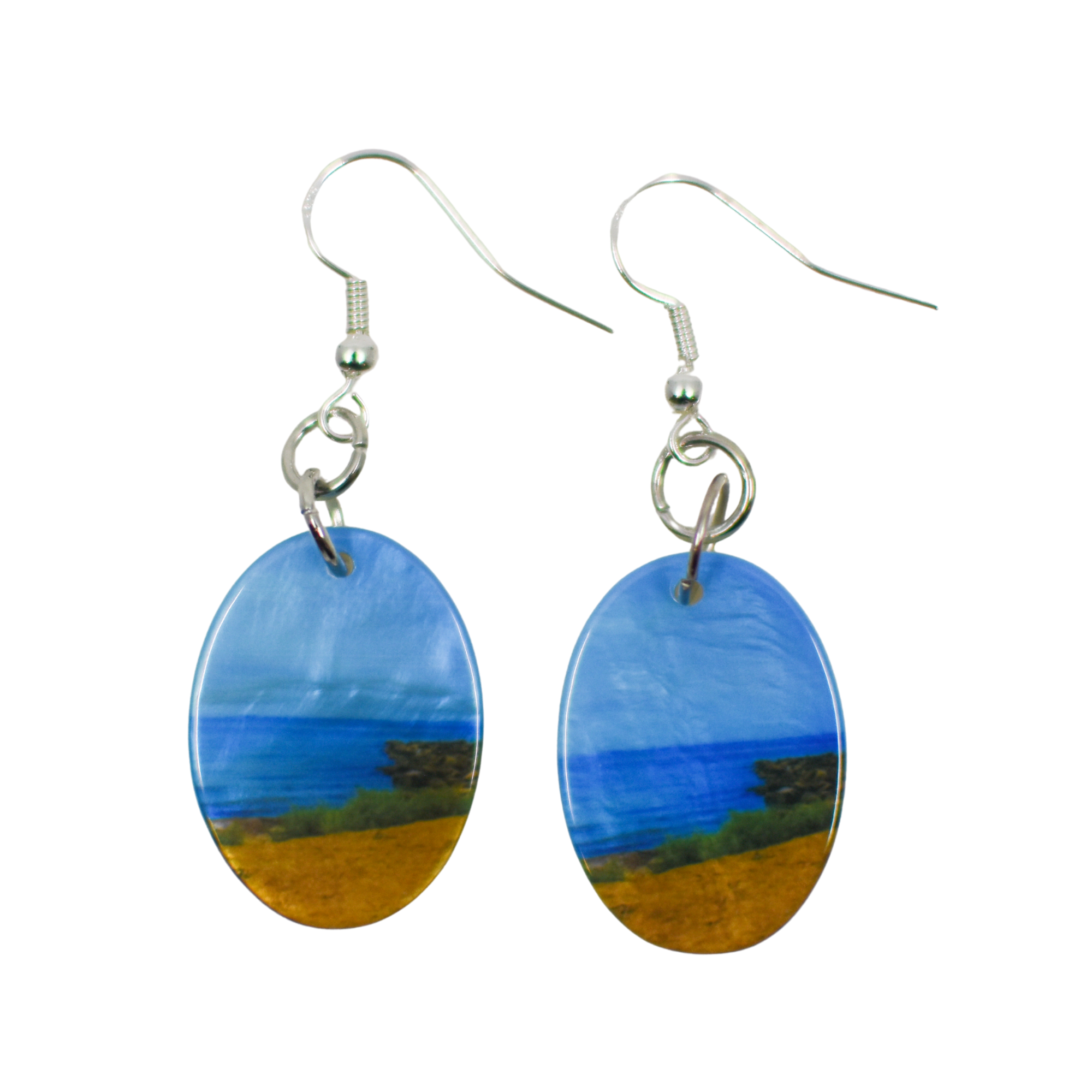 Standard view of Peaceful Beach Earrings | Wear the Wonder