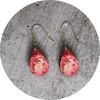Pretty Peonies Teardrop Earring - Wear the Wonder