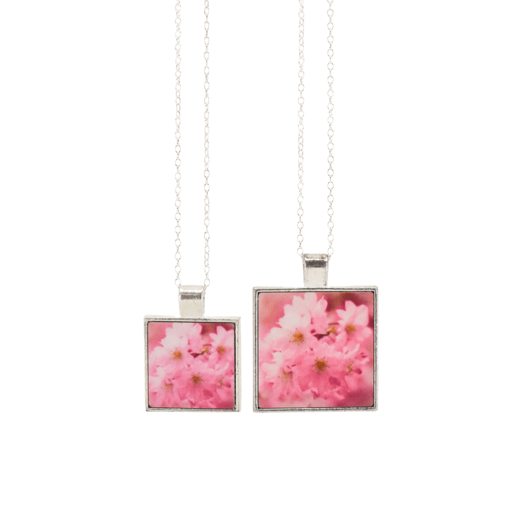 Sakura Cluster Pendant Necklaces from Wear the Wonder