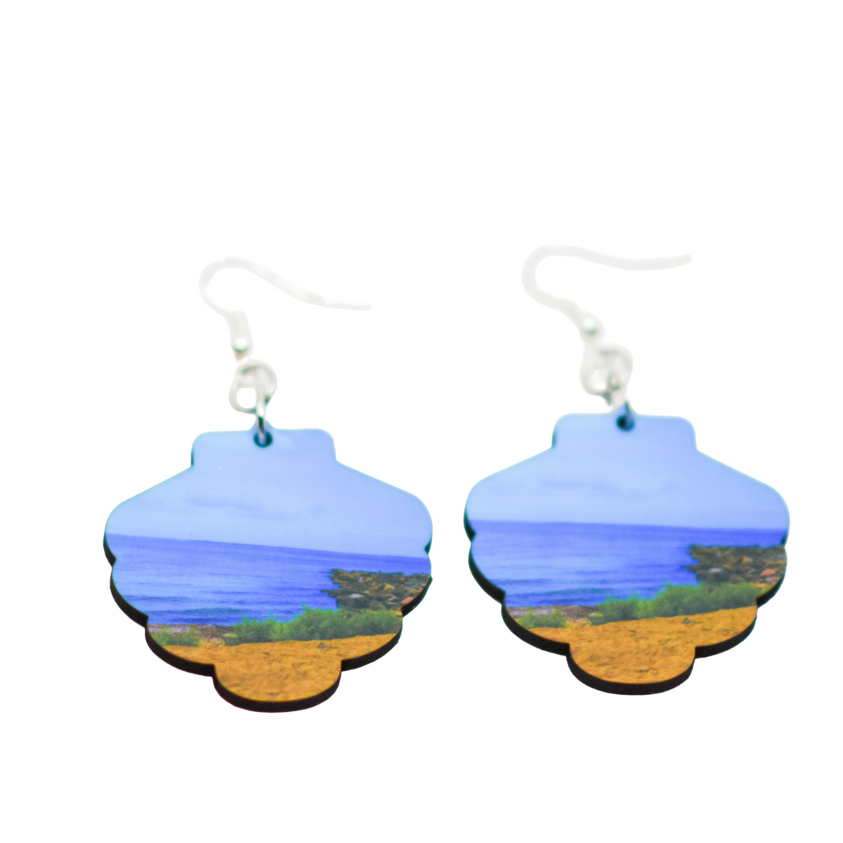Standard view of Peaceful Beach Seashell Earring | Wear the Wonder