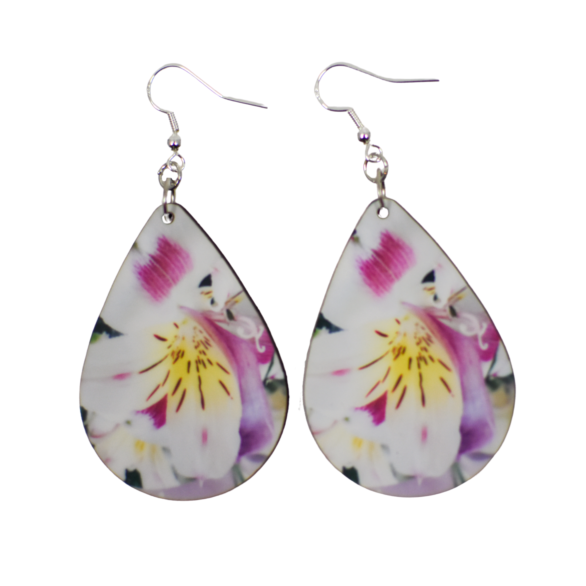 Large Lily Teardrop Earrings | Wear the Wonder