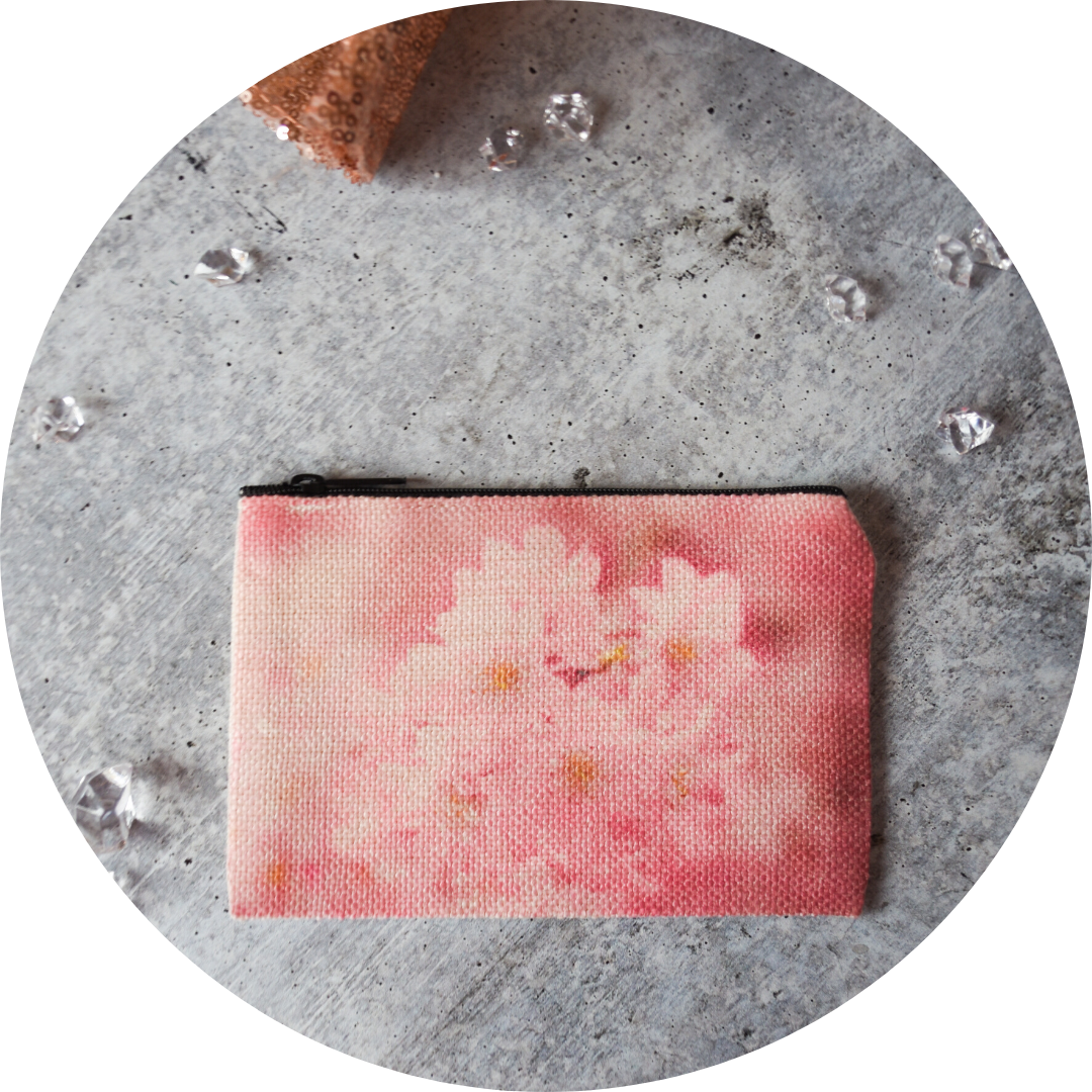 Sakura Cluster Zip Wallet - Wear the Wonder