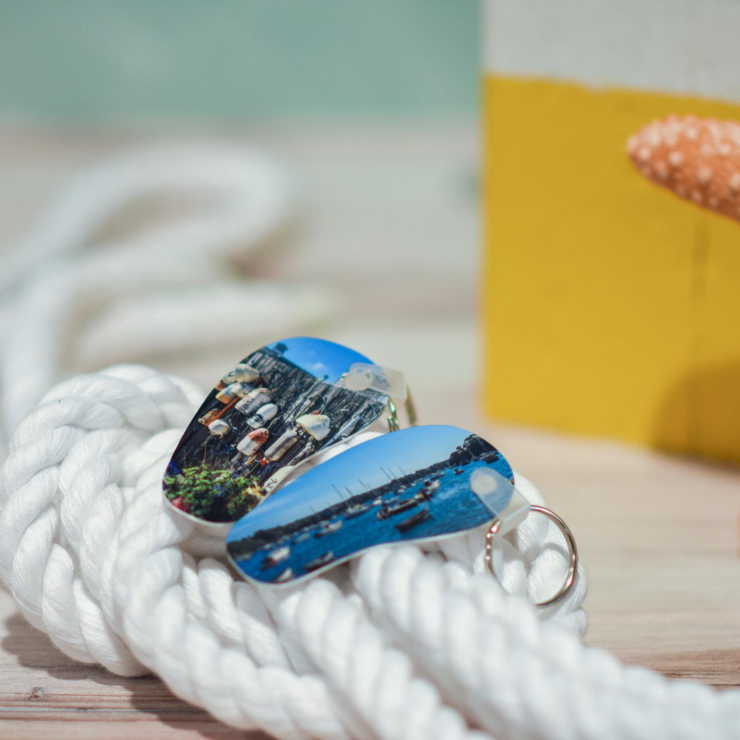 Woods Hole Buoys and Quissett Harbor Keychains | Wear the Wonder