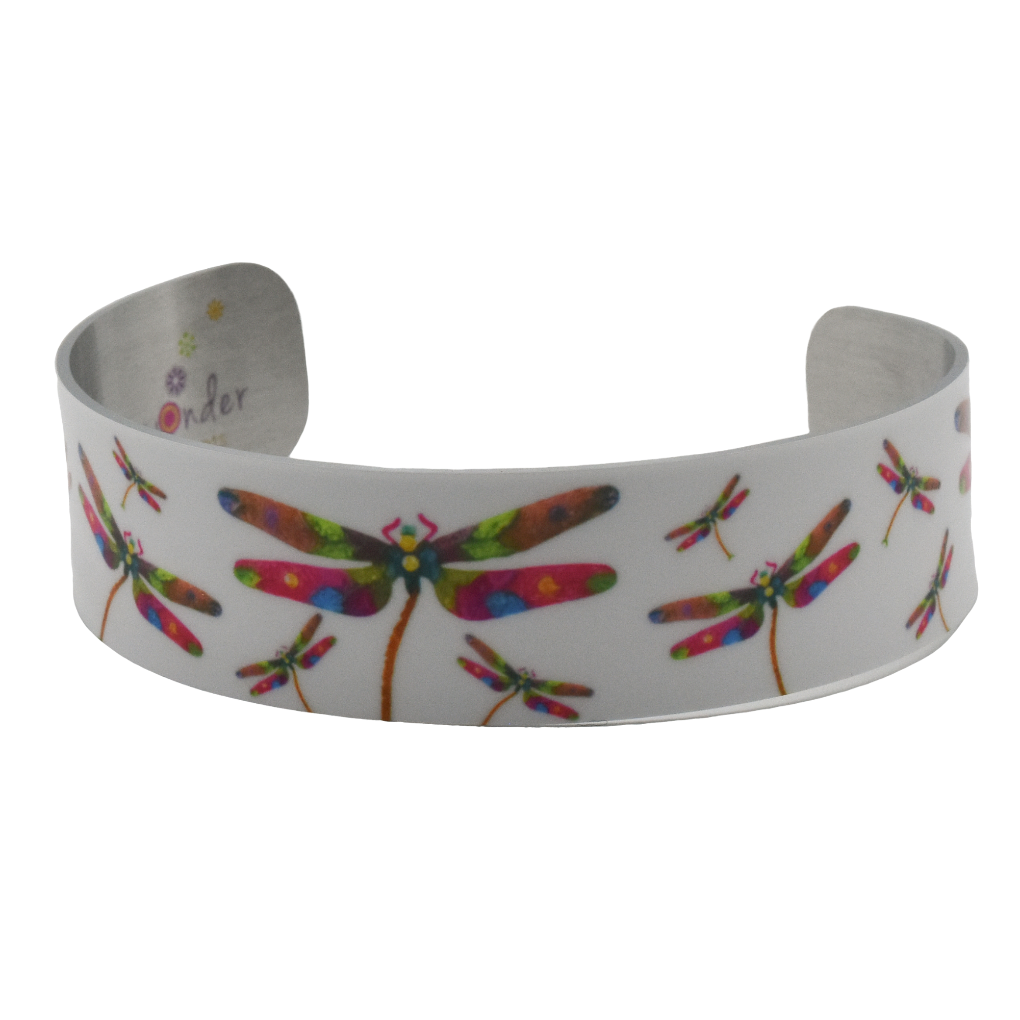 Glow Dragonfly Narrow Cuff Bracelet - Wear the Wonder