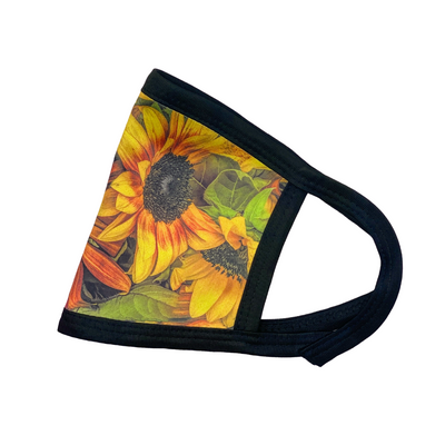 Side view of Thousand Suns | Sunflower Mask
