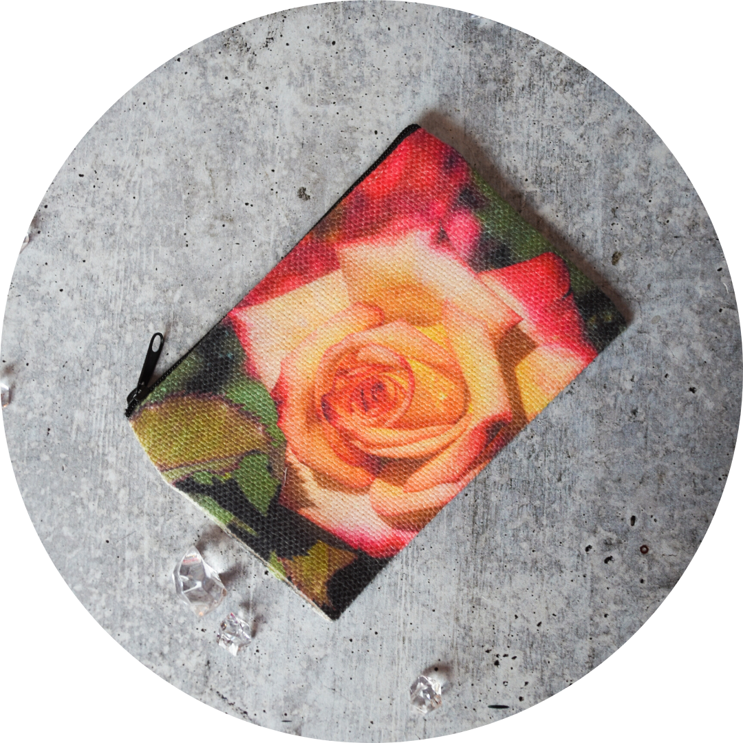 Morning Rose Zip Wallet - Wear the Wonder