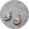 Lucky Stars Teardrop Earring