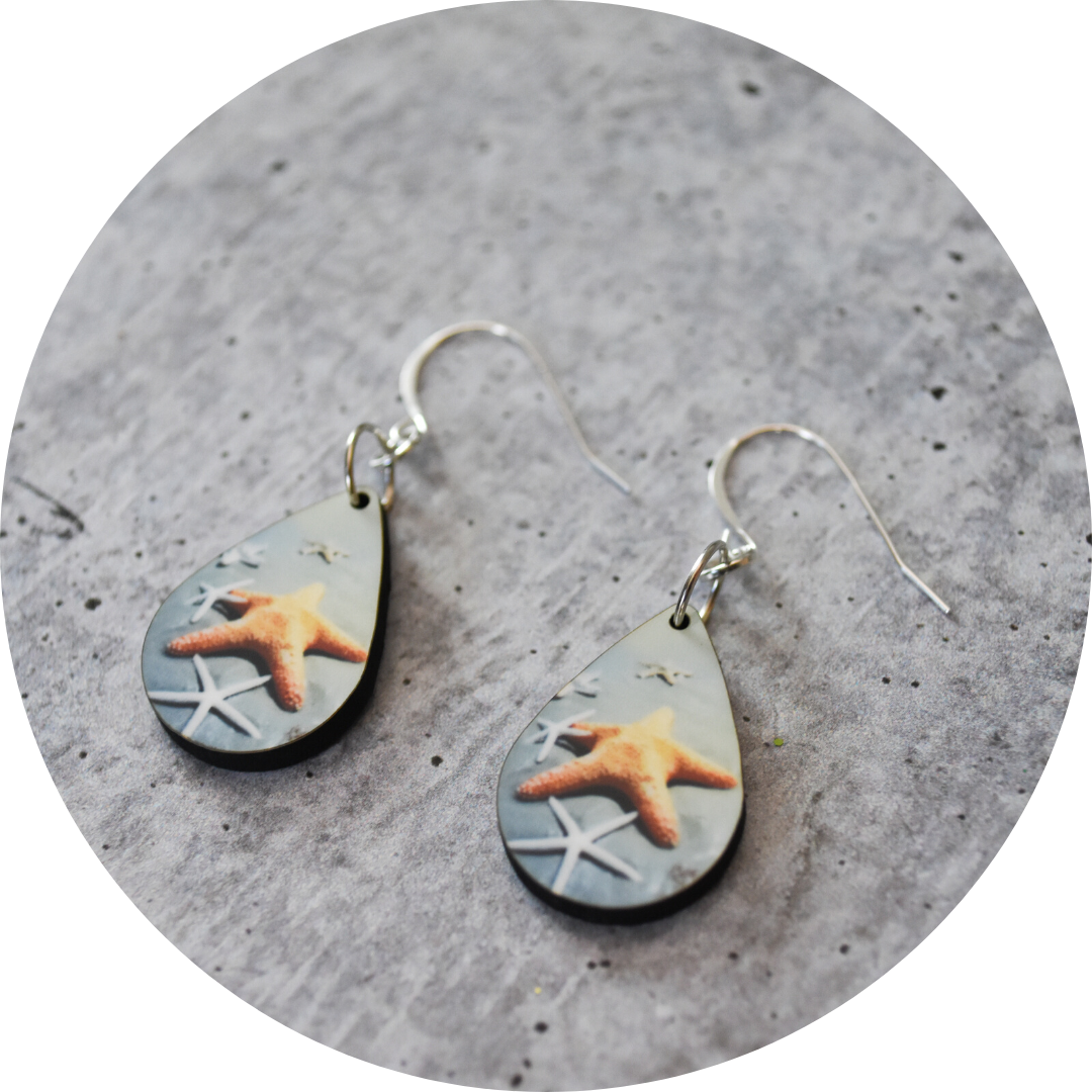 Lucky Stars Teardrop Earring - Wear the Wonder