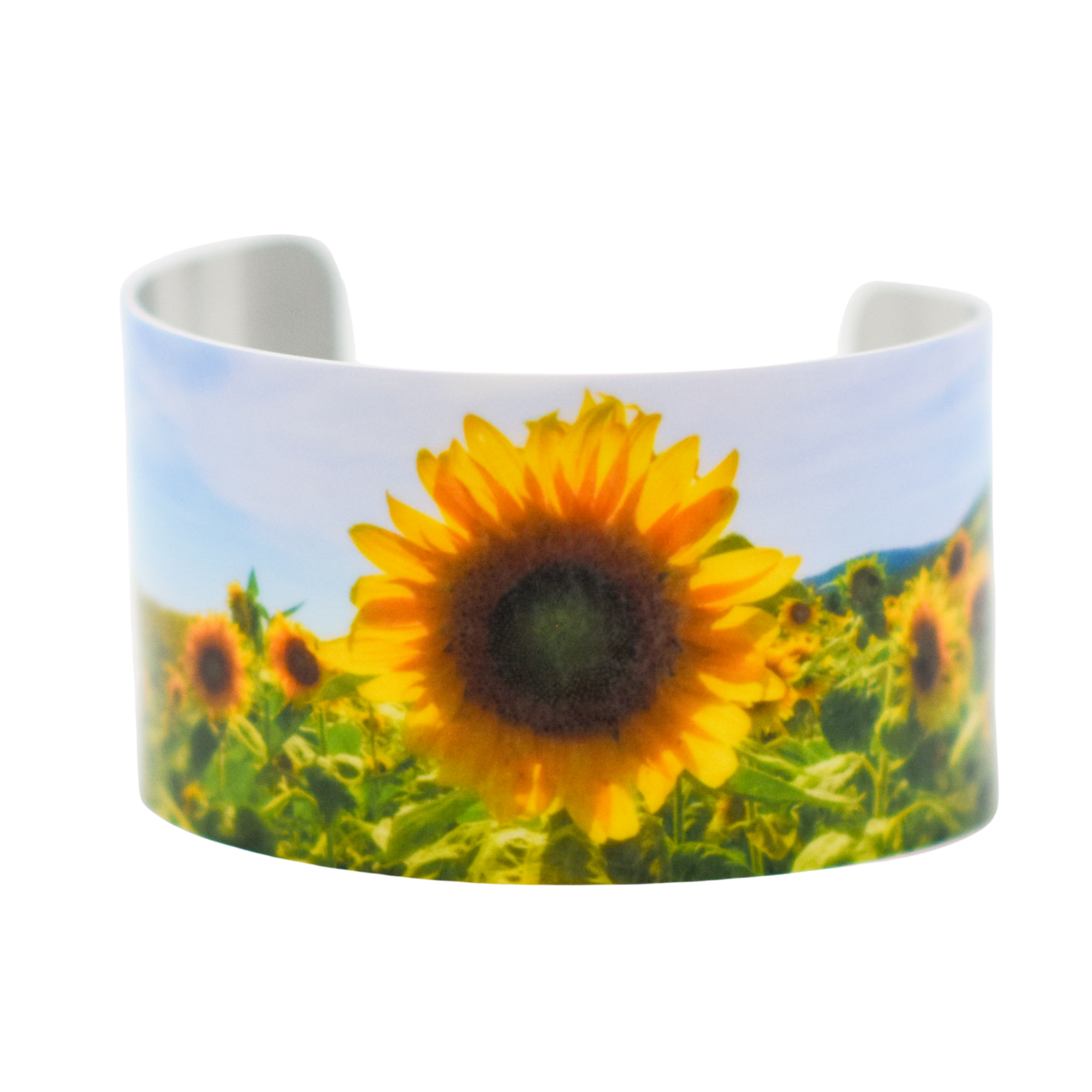 Standard view of One in a Million Sunflowers Bracelet | Wear the Wonder