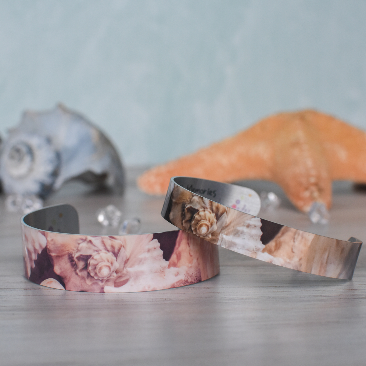 Super Narrow & Narrow conch shell bracelets | Wear the Wonder