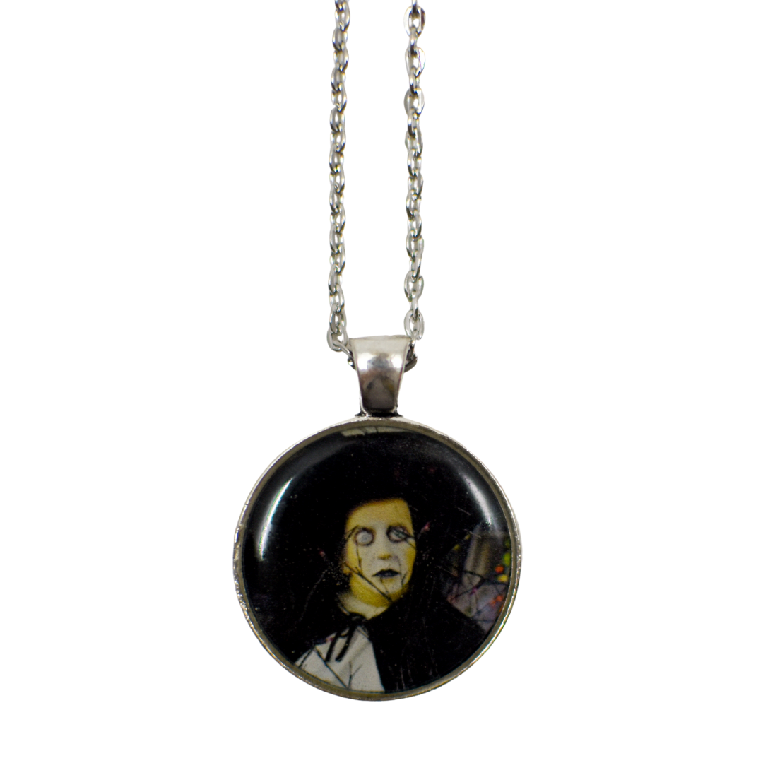 Vampire Resin Pendant Necklace