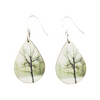 Somber Stillness Teardrop Earring - Wear the Wonder