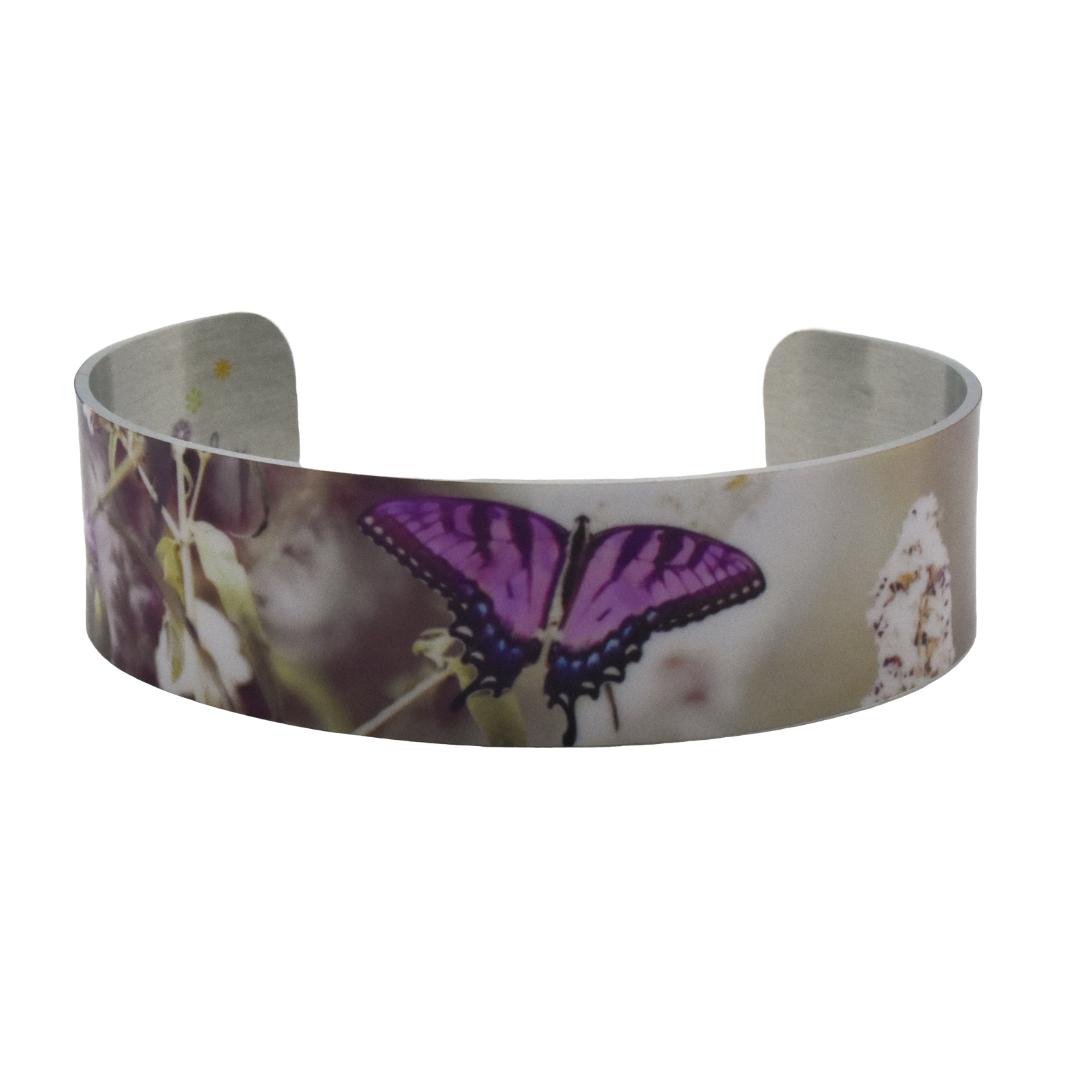 Lavender Butterfly Bracelet | Wear the Wonder