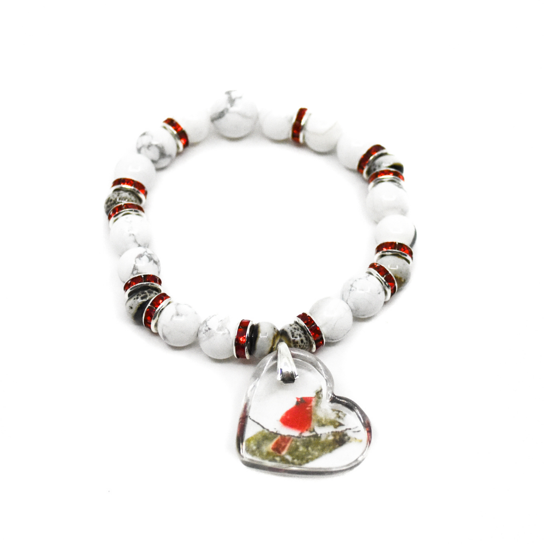 Cardinal Near Charm Bracelet | Wear the Wonder