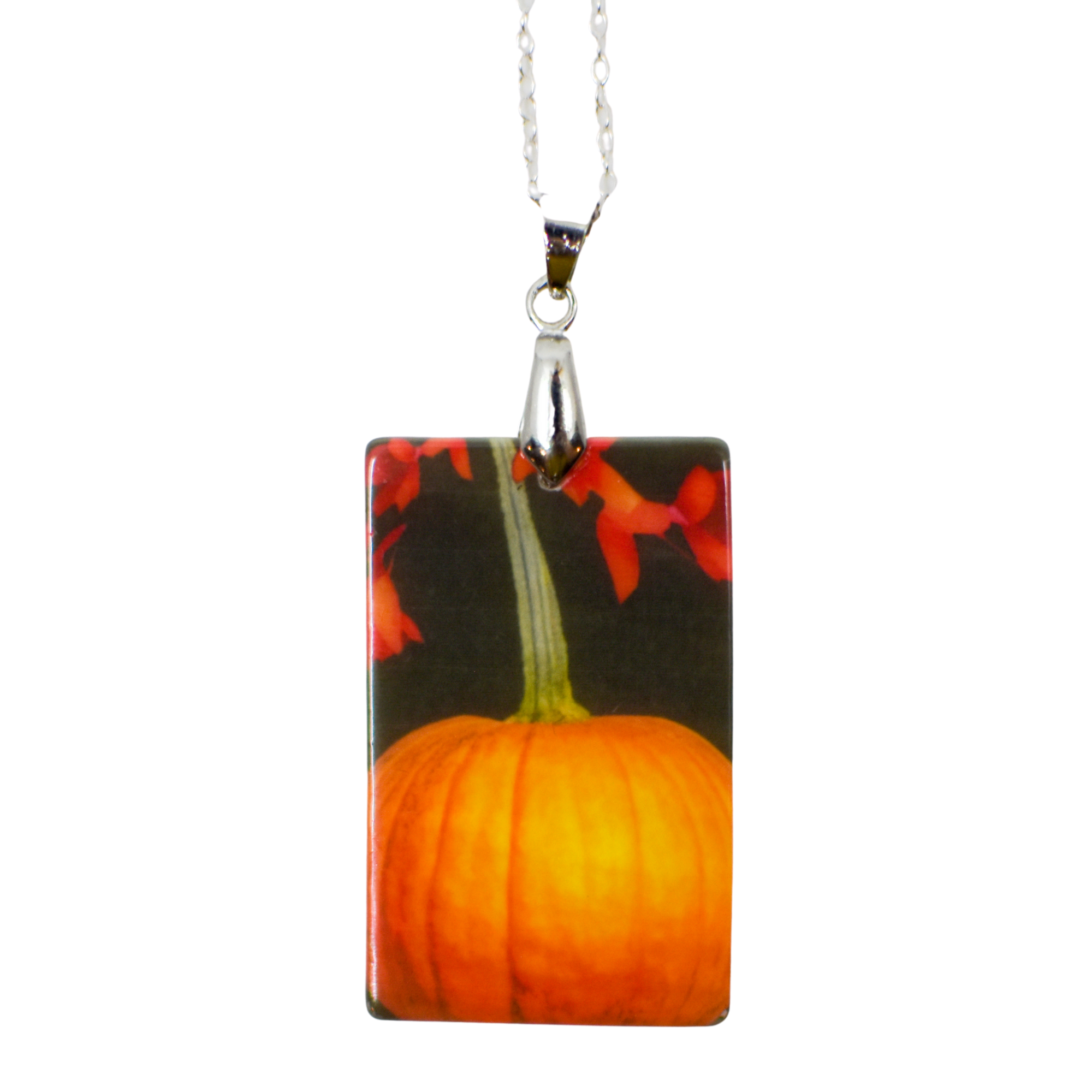 Cascading Autumn Mother of Pearl Necklace