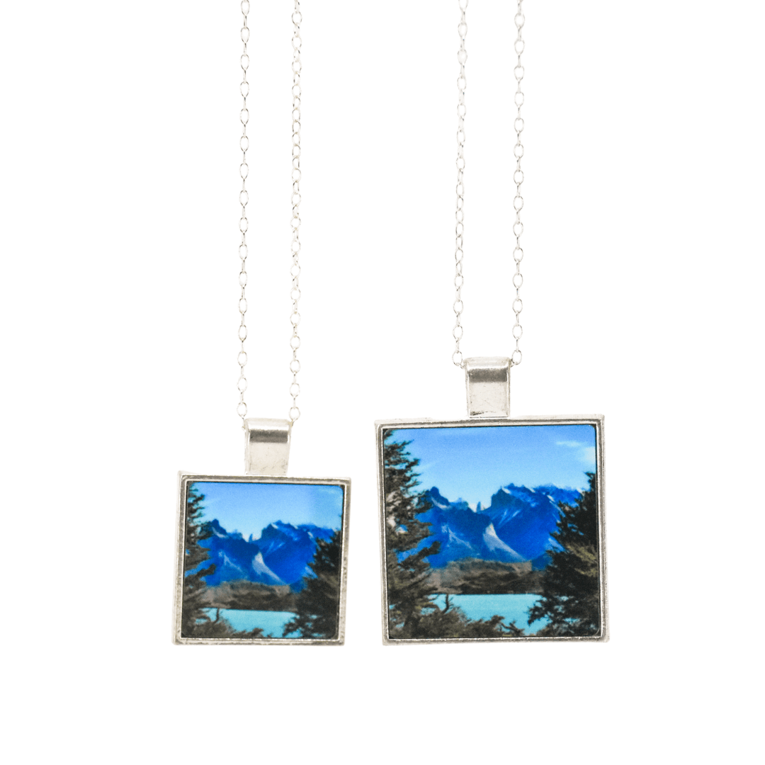 Towers of Azure Pendant Necklace | Patagonia | Wear the Wonder