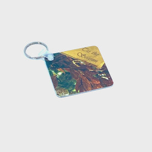 Spinning product video of Tis the Season Christmas Keychain | Wear the Wonder