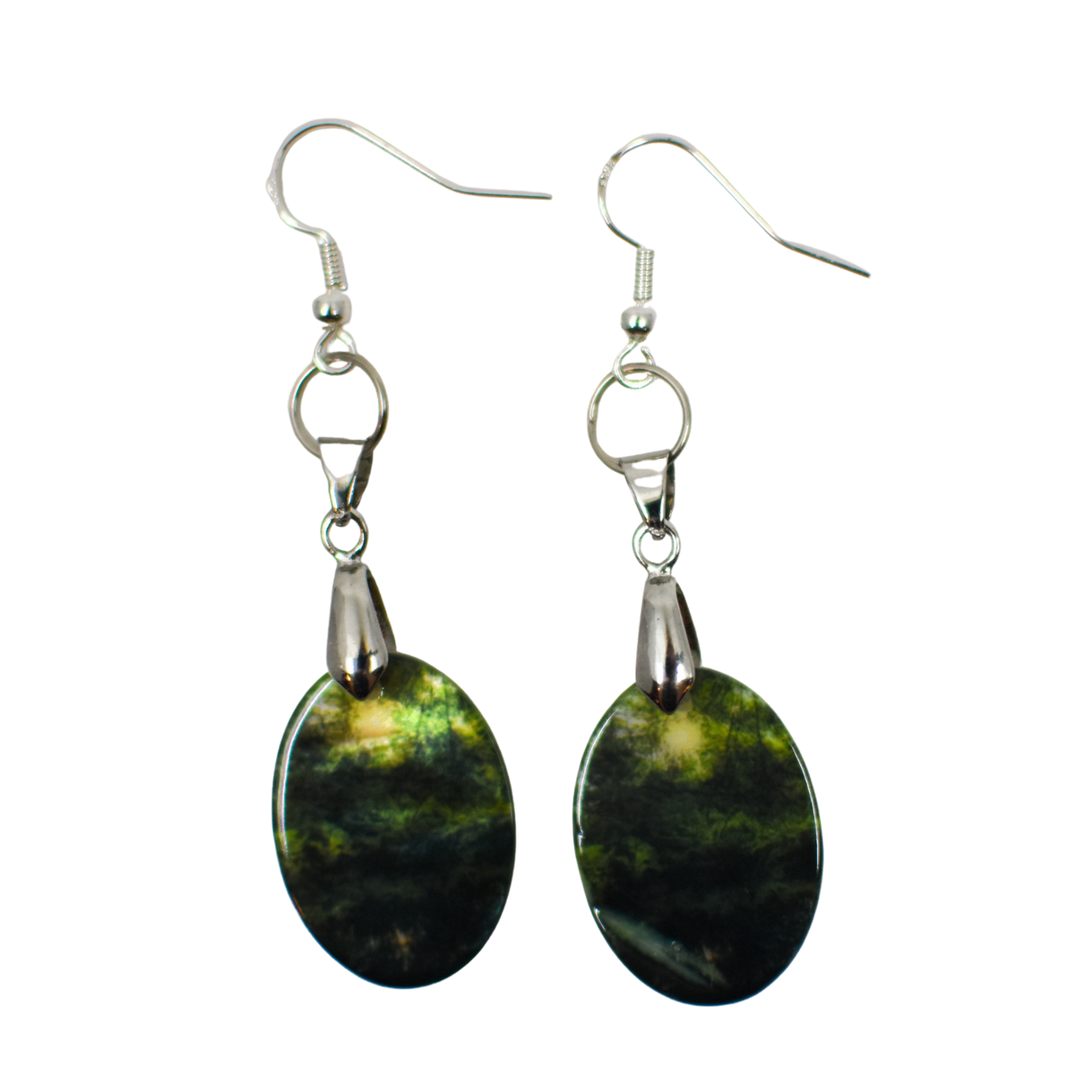 Standard view of Forest Pond Earrings | Wear the Wonder