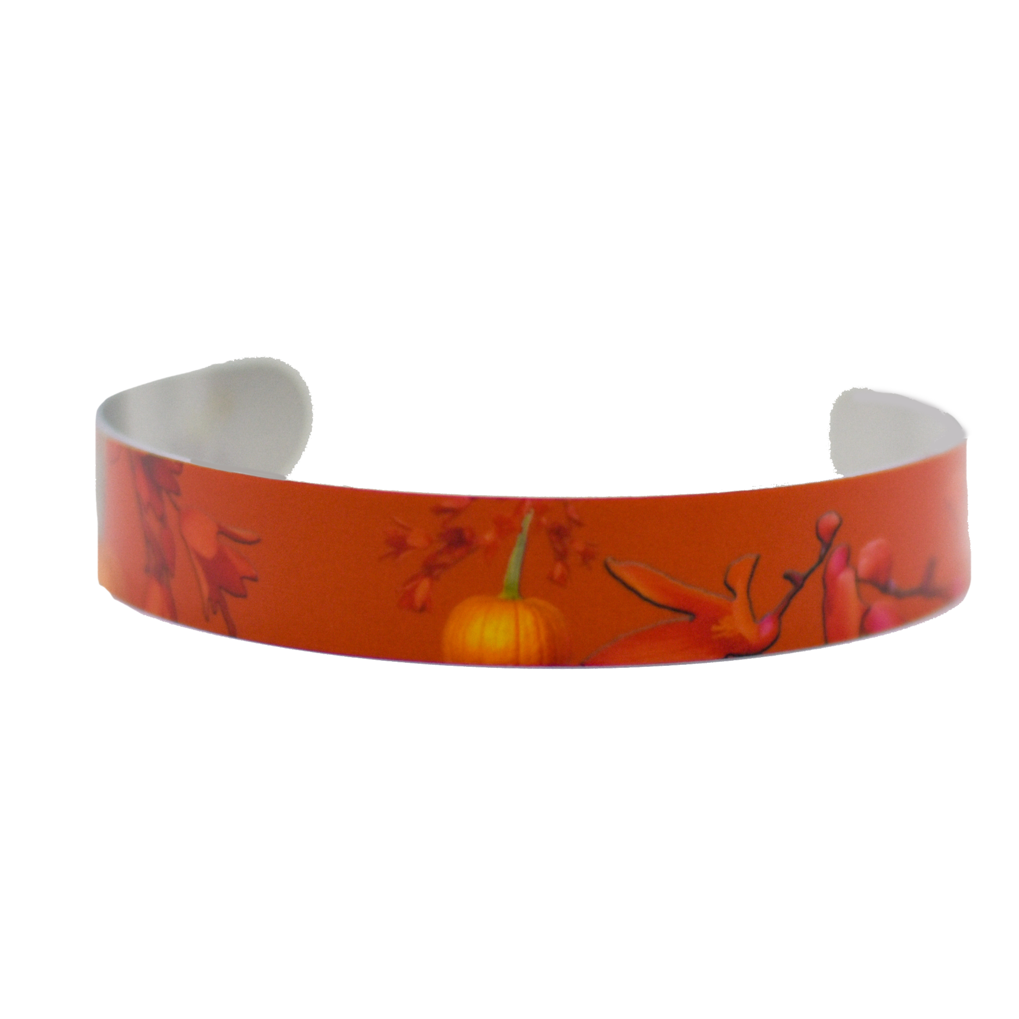 Standard view of Cascading Autumn Super Narrow Cuff Bracelet | Wear the Wonder