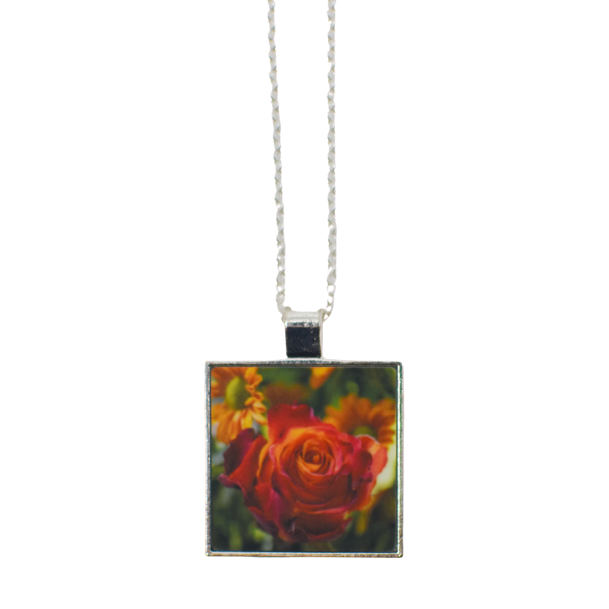 Standard view of Autumn Rose Pendant Necklace | Wear the Wonder
