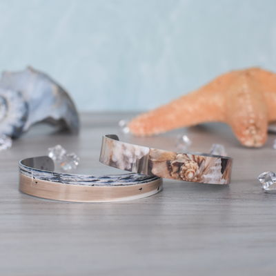 Morning Gather & Conch Shell Super Narrow Cuffs | Wear the Wonder