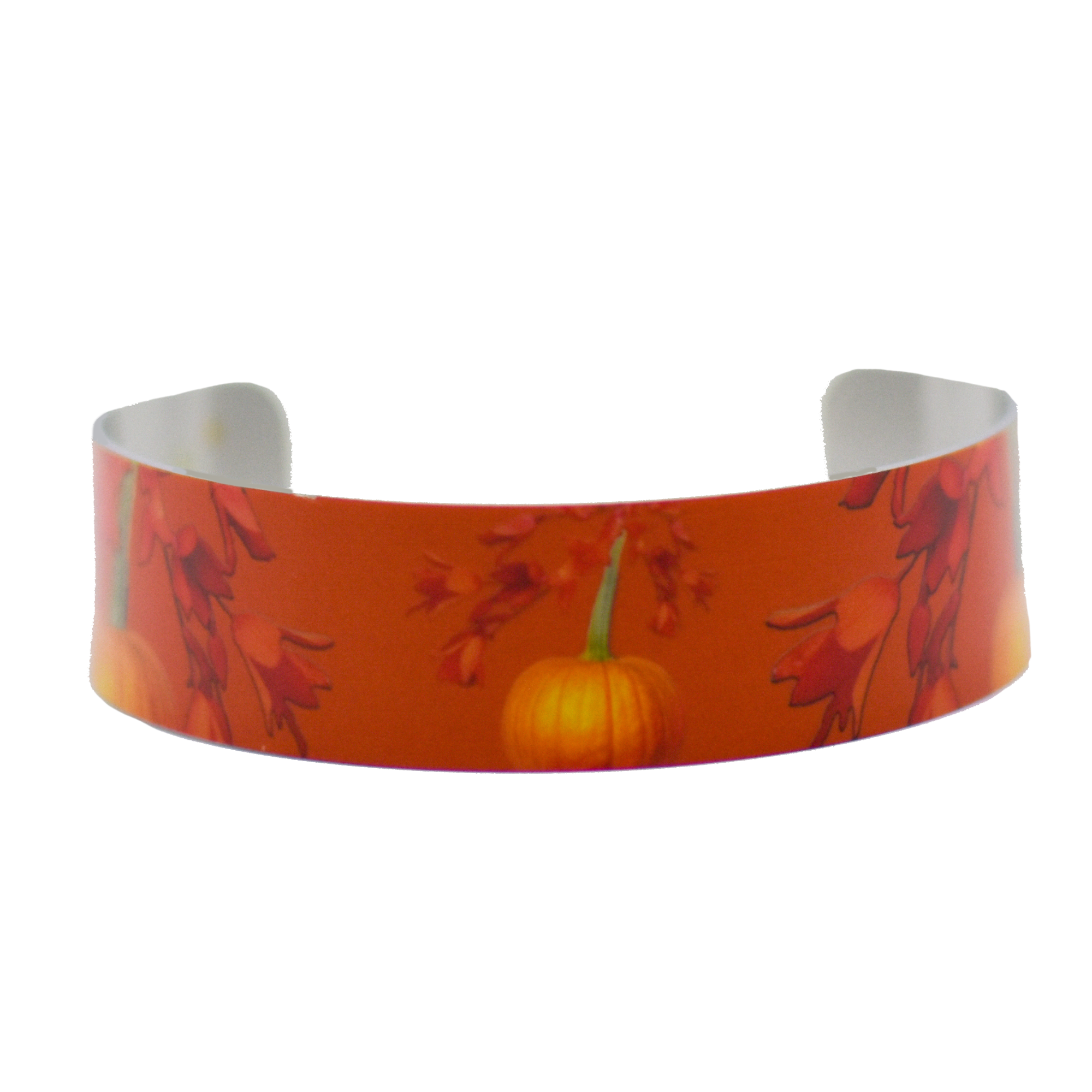 Standard view of Cascading Autumn Narrow Cuff Bracelet | Wear the Wonder