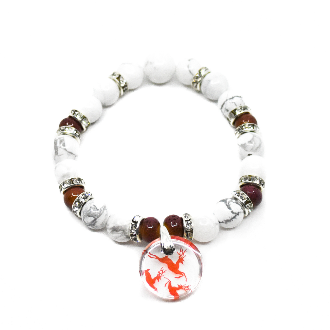 Reindeer Charm Bracelet | Wear the Wonder