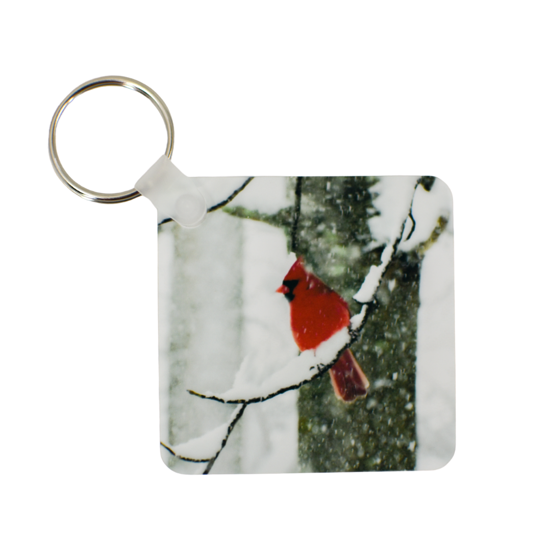 Angels Near Cardinal Keychain | Wear the Wonder