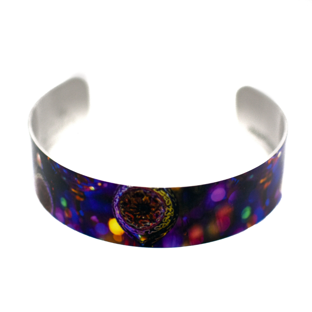 Christmas Sparkle Narrow Cuff Bracelet | Wear the Wonder