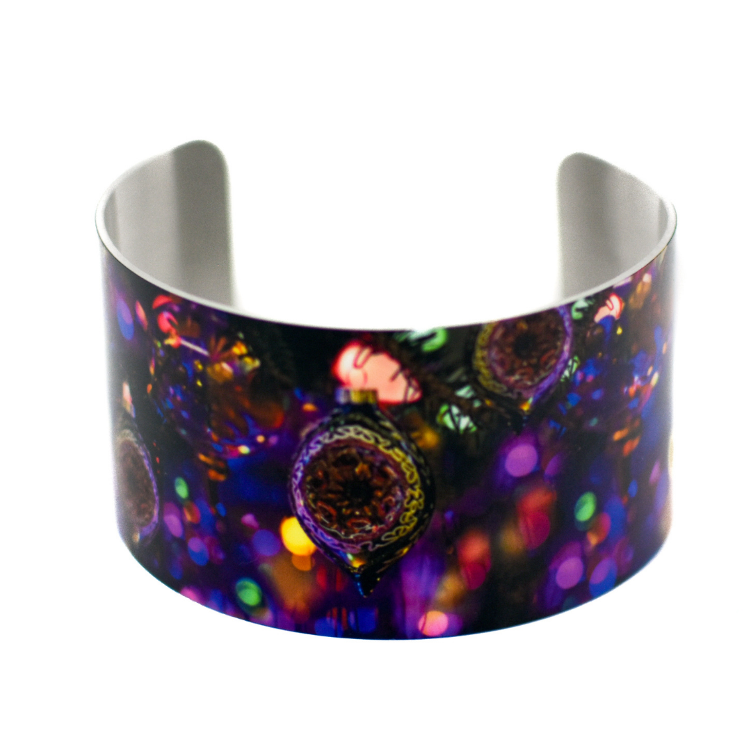 Christmas Sparkle Wide Cuff Bracelet | Wear the Wonder