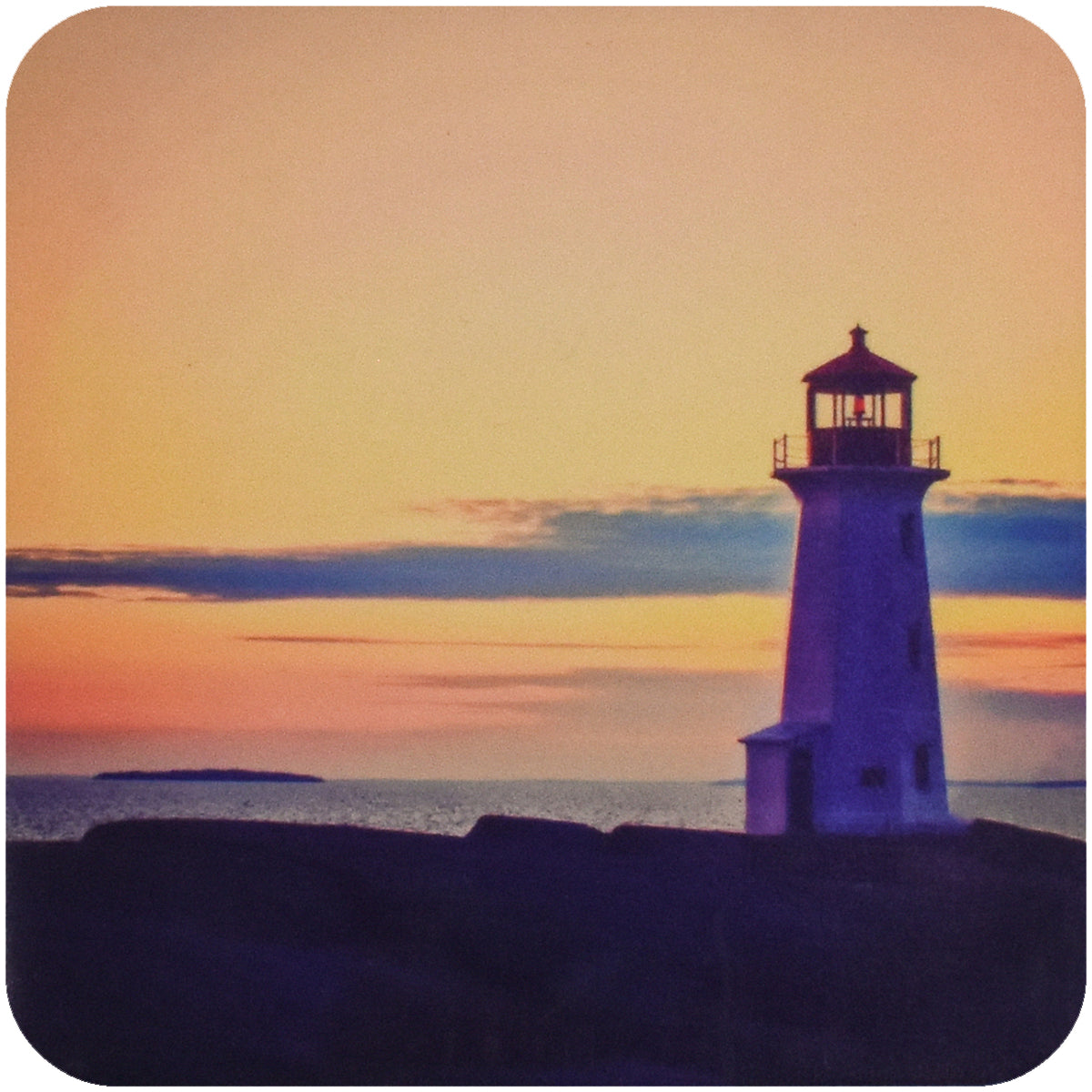 Cove Light Lighthouse Coaster - Wear the Wonder