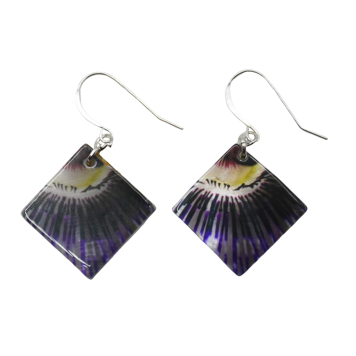 Blooming Iris Earrings - Wear the Wonder