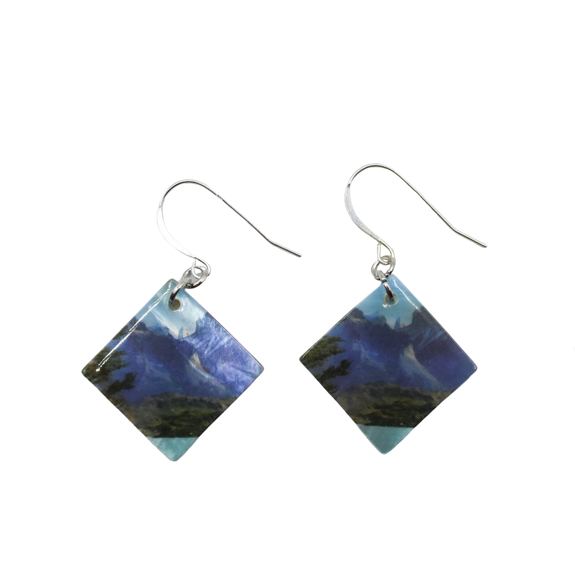 Towers of Azure Earrings - Wear the Wonder